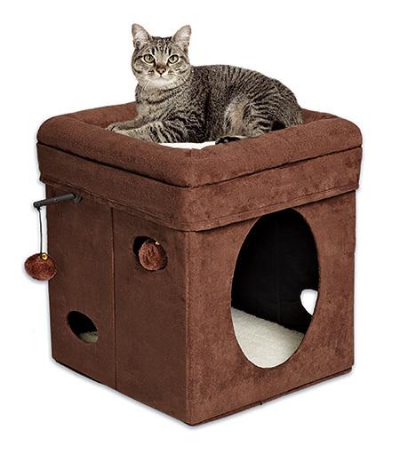 Домик для кошки Currious Cat Cube