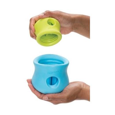 Zogoflex Игрушка под лакомства для собак Toppl S оранжевая (фото, вид 3)