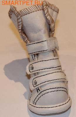 "IS Pet Ботинки для собак белые ""Acacia"" (фото, вид 2)"