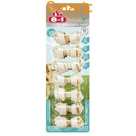 8in1 Косточки с куриным мясом и минералами для чистки зубов у собак Dental Delights (фото, вид 3)