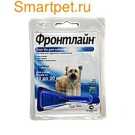 Фронтлайн Капли от клещей на холку собак Спот-он (фото, вид 1)