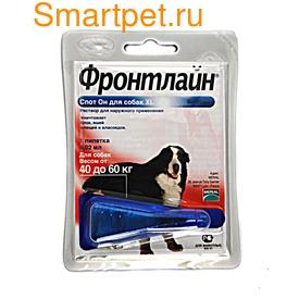 Фронтлайн Капли от клещей на холку собак Спот-он (фото, вид 3)