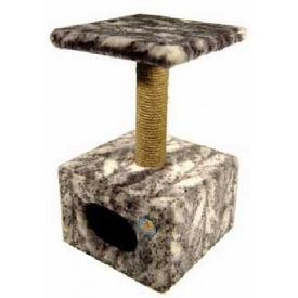 Зооник Дом для кошки малый 60см высота (фото, вид 1)