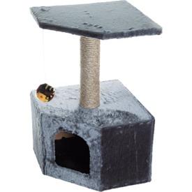 Зооник Дом для кошки угловой (фото, вид 2)