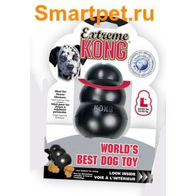 Kong Игрушка для собак под лакомства очень прочная - Extreme (фото, вид 1)