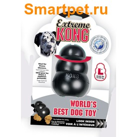 Kong Игрушка для собак под лакомства очень прочная - Extreme (фото, вид 5)