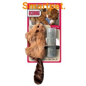 """Kong Игрушка для кошек """"Бобер"""", плюш и кошачья мята (фото, вид 2)"""