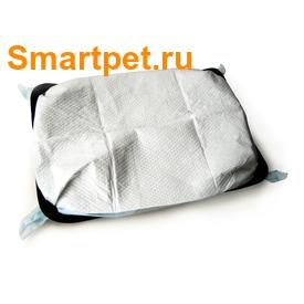 Ibiyaya Складная сумка-переноска для собак и кошек до 6кг бежевая (фото, вид 2)