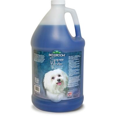 Bio-groom Super White - шампунь для собак супербелый (фото, вид 1)