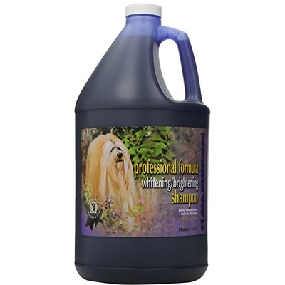 #1 All systems P.F. Whitening shampoo - шампунь отбеливающий для яркости окраса (фото, вид 1)