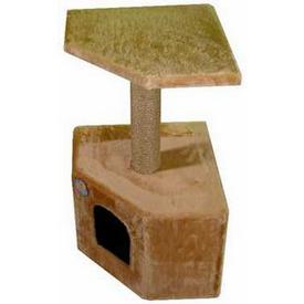Зооник Дом для кошки угловой (фото, вид 1)