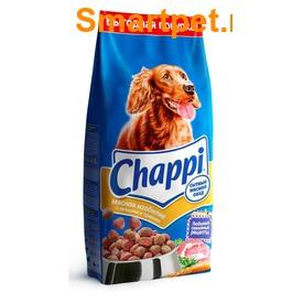 Chappi Сухой корм для собак Мясное изобилие (фото, вид 1)