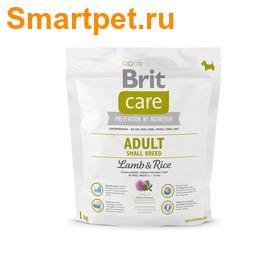 Brit Care Сухой корм для собак мелких пород с ягненком и рисом Adult Small Breed Lamb & Rice (фото, вид 1)