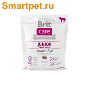Brit Care Junior Large Breed Lamb & Rice для щенков крупных пород с ягненком (фото, вид 1)