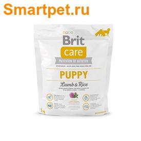 Brit Care Puppy All Breed Lamb & Rice для щенков всех пород с ягненком (фото, вид 1)