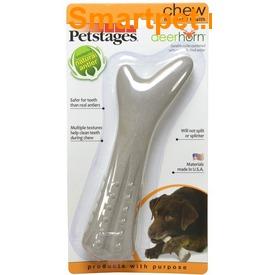 Petstages Игрушка для собак Deerhorn, с оленьими рогами (фото, вид 3)