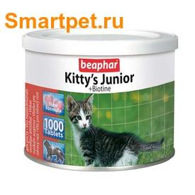 BEAPHAR Kitty's Junior - Витаминизированное лакомство для котят (фото, вид 1)