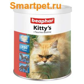 BEAPHAR Kitty's + Taurin + Biotin - витамины с биотином и таурином (фото, вид 2)