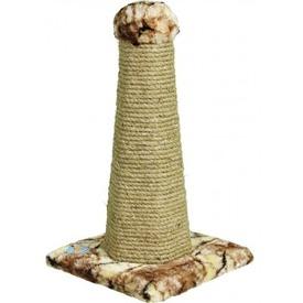 Зооник Столб-когтеточка шестигранная на подставке (фото, вид 1)