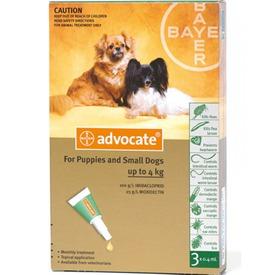 Bayer Адвокат капли для собак от чесоточных клещей, блох и гельминтов (фото, вид 2)