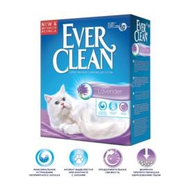 Ever Clean Lavander - комкующийся наполнитель с ароматом Лаванды (фото, вид 1)