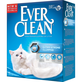 Ever Clean Extra Strength Clumping UnScented - комкующийся наполнитель без ароматизатора (фото, вид 1)