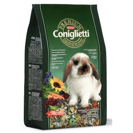 Padovan Premium Coniglietti - корм комплексный для кроликов и молодняка (фото, вид 1)