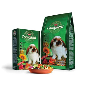 Padovan Premium Coniglietti - корм комплексный для кроликов и молодняка (фото, вид 2)