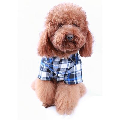 4 My Pets Рубашка байковая для собак мелких пород (фото, вид 1)