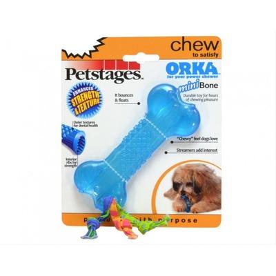 Petstages Игрушка для собак мелких пород Mini ОРКА-косточка (фото, вид 1)