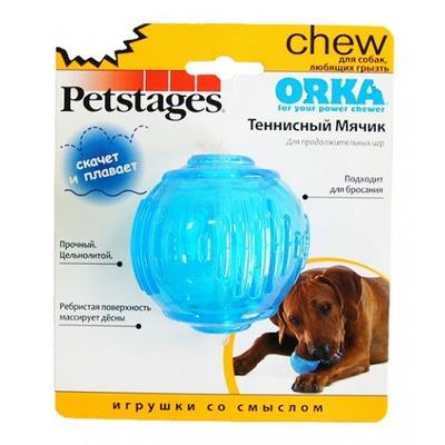 """Petstages Игрушка для собак """"ОРКА теннисный мяч"""" (фото, вид 1)"""