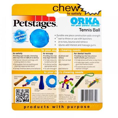 """Petstages Игрушка для собак """"ОРКА теннисный мяч"""" (фото, вид 2)"""