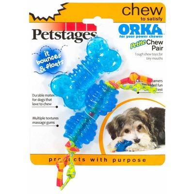 """Petstages Игрушки для собак ультра-мини """"ОРКА косточка и гантель"""" (фото, вид 1)"""