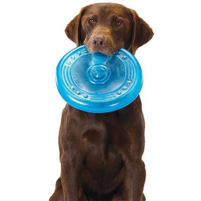 Petstages Игрушка для собак Орка-летающая тарелка (фото, вид 1)