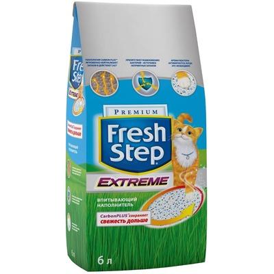 Fresh Step Extreme Впитывающий наполнитель с тройным контролем запахов (фото, вид 2)
