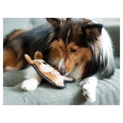 OH Игрушка для собак Invinc Mini Щенок без наполнителя (фото, вид 1)
