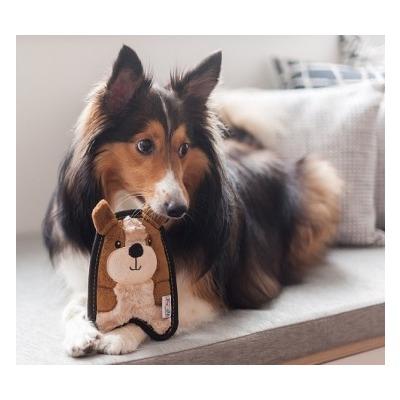 OH Игрушка для собак Invinc Mini Щенок без наполнителя (фото, вид 2)