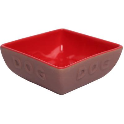 Lion Керамическая миска для собак DOG (фото, вид 1)