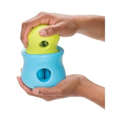 Zogoflex Игрушка под лакомства для собак Toppl S оранжевая (фото, вид 5)