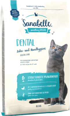 Сухой корм Sanabelle Dental для кошек Профилактика заболеваний полости рта (фото, вид 1)