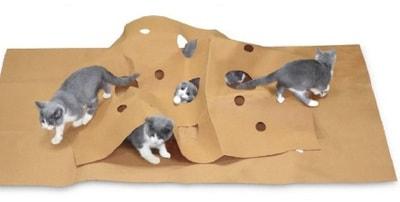 Антицарапки Мат-трансформер для кошек (фото, вид 1)