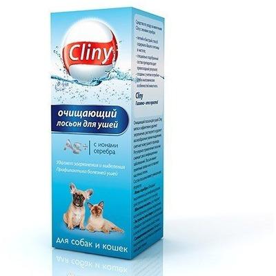 Cliny Лосьон очищающий для ушей (фото, вид 1)