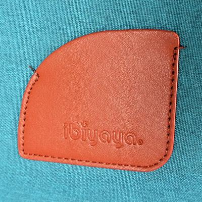 Ibiyaya Складная сумка-переноска для собак и кошек до 6 кг прозрачная/бирюзовая (фото, вид 12)