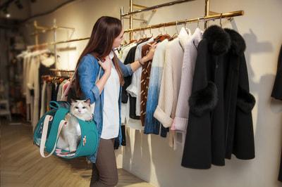 Ibiyaya Складная сумка-переноска для собак и кошек до 6 кг прозрачная/бирюзовая (фото, вид 17)