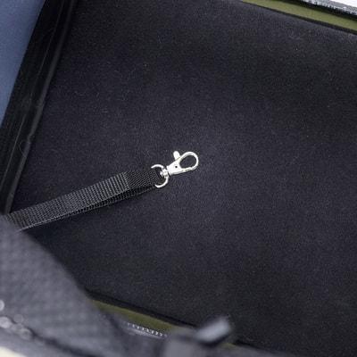 Ibiyaya Складная сумка-переноска для собак и кошек до 6 кг прозрачная/зеленая (фото, вид 5)