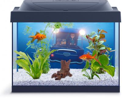 """Tetra Аквариумный комплекс """"Миньоны Goldfish"""", с LED освещением (фото, вид 1)"""
