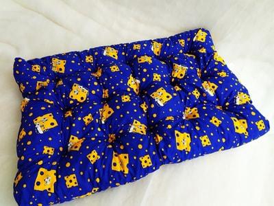 Бобровый дворик Матрас для собак уДачный Синие кошки (фото, вид 1)