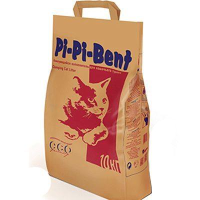 Наполнитель Pi-Pi Bent Classic для кошек натуральный комкующийся (фото, вид 1)