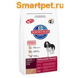 Сухой корм HILL'S Medium Adult Lamb&Rice для собак ягненок с рисом (фото, вид 1)