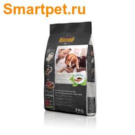 Сухой корм Belcando Adult Lamb & Rice для взрослых собак с ягненком (фото, вид 1)